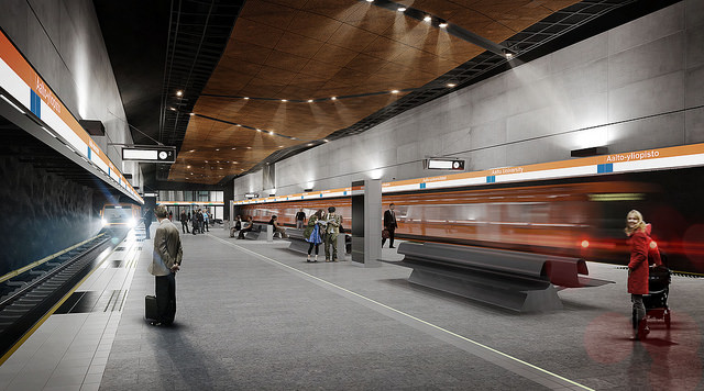 Aalto Yliopisto Metroasema